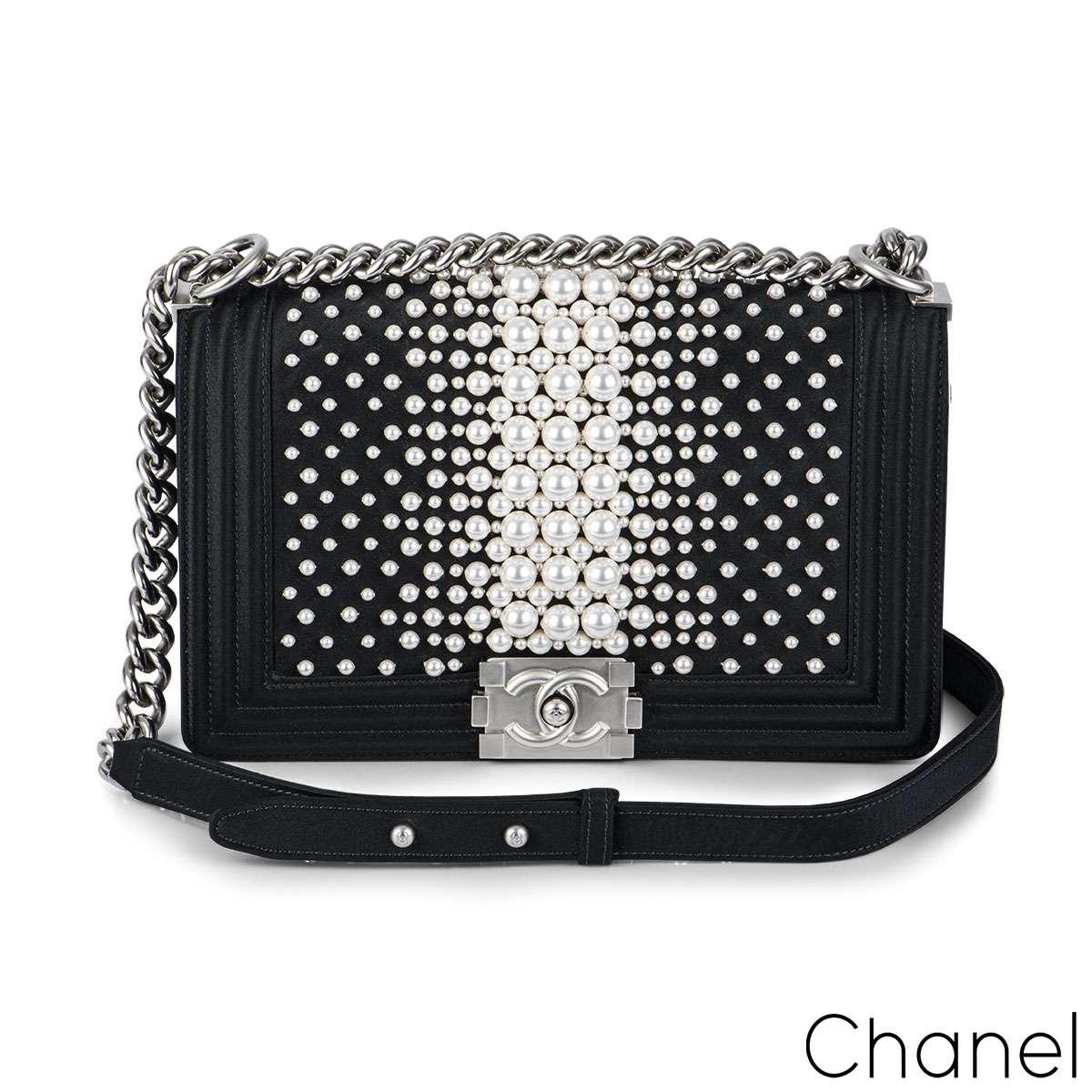 Chanel Limited Edition Pearl Medium Boy Bag